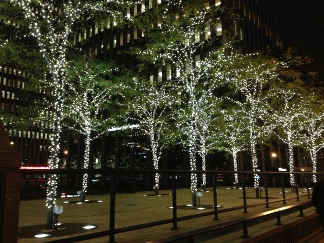 Across from Radio City