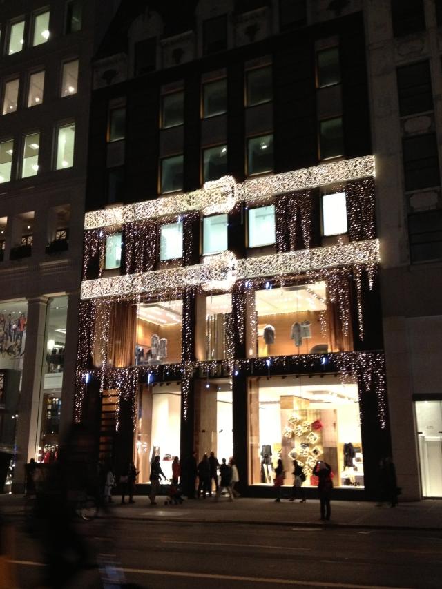 Fendi store on Fifth Avenue