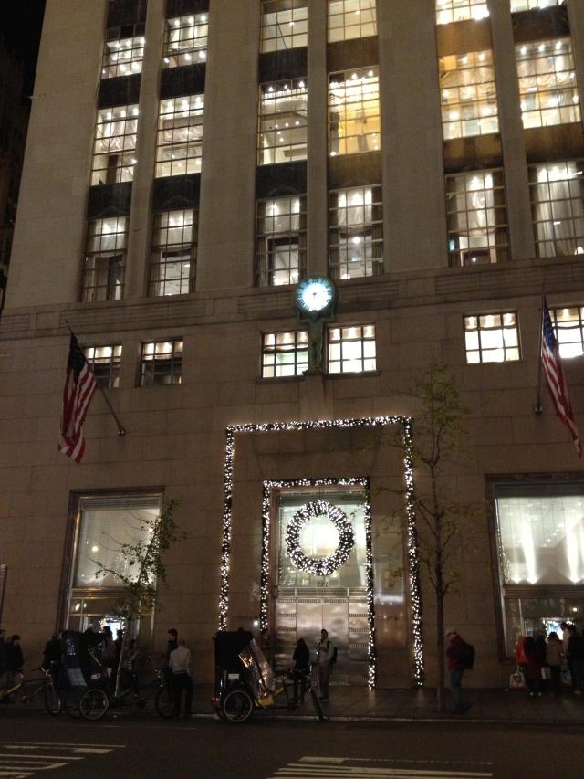 Tiffany on Fifth Avenue