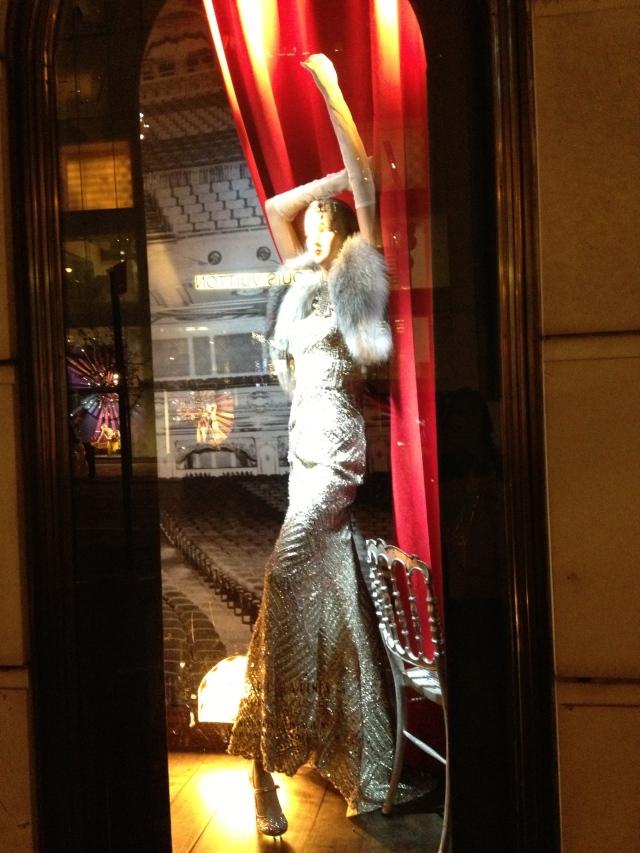 Bergdorf Goodman window