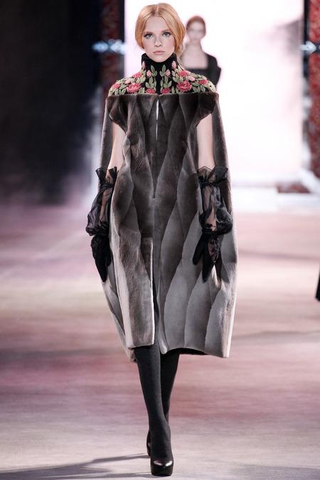 Ulyana Sergeenko Fall 2013 Couture 1