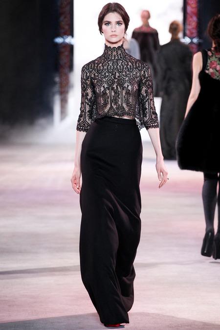 Ulyana Sergeenko Fall 2013 Couture 18